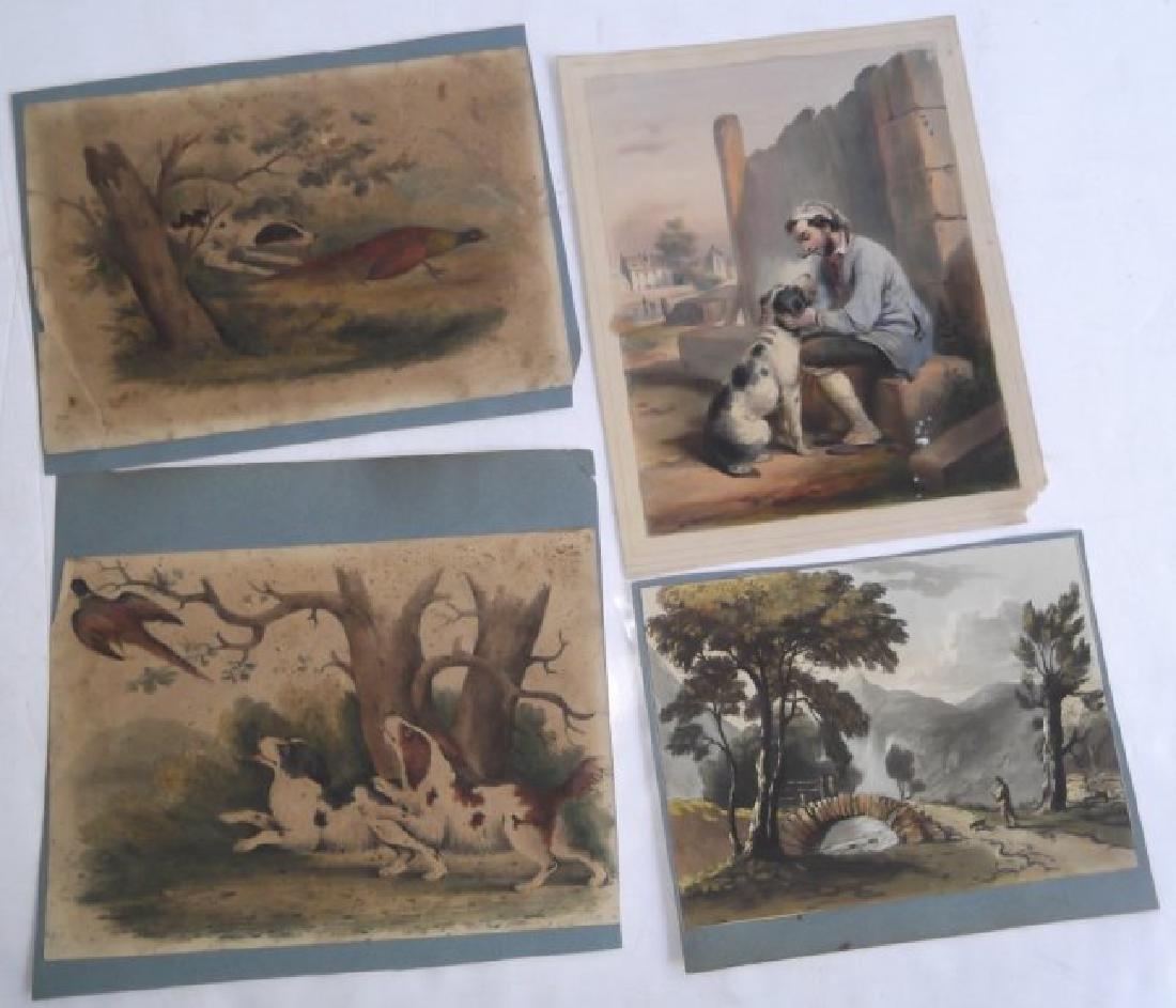 26 vintage engravings & prints - 12