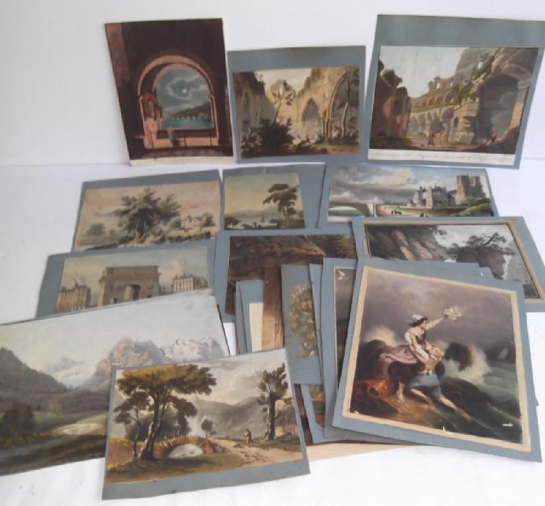 26 vintage engravings & prints