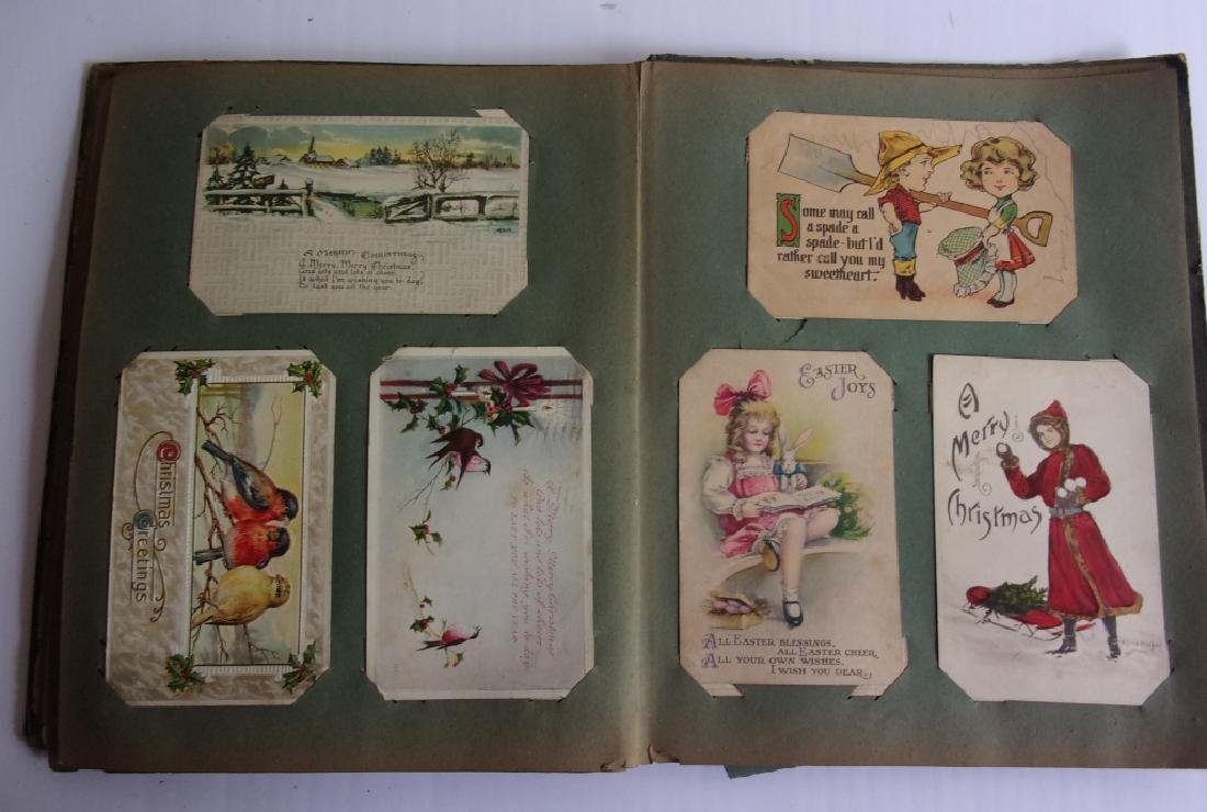 Vintage scrapbook