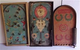 3 vintage board games