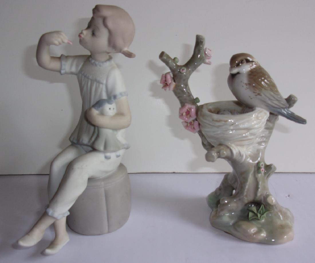 2 Lladro statues