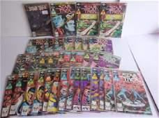 33 vintage Star Trek comic books