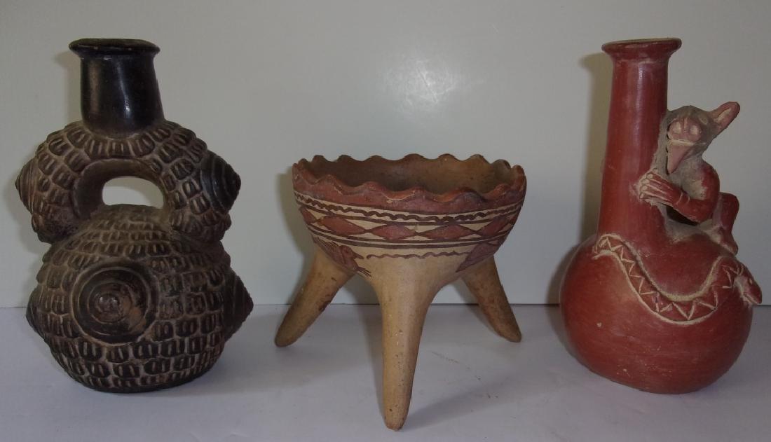 3 piece Vintage Mezzo American Pottery