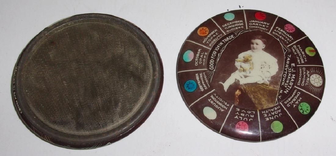 14 Vintage advertising pocket mirrors - 2