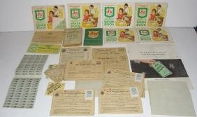 S & H Green Stamps, War Ration Books