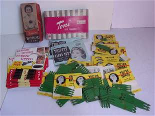 Collection of assorted vintage store stock