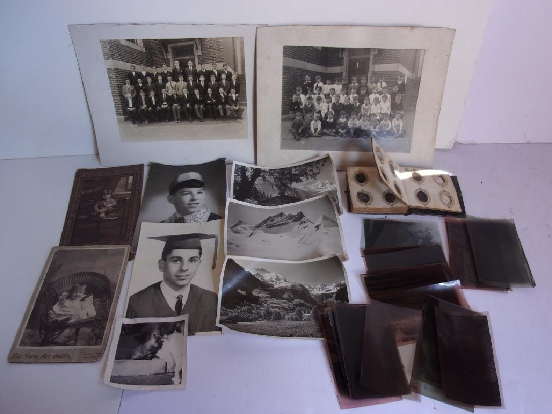 Collection of vintage photos