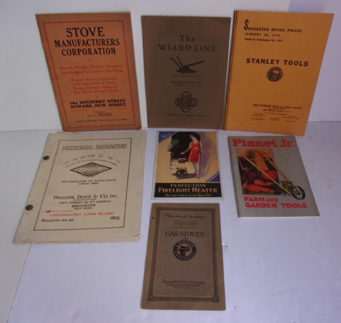 7 vintage catalogs