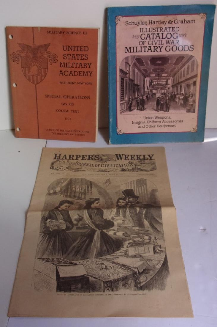 3 piece military related paper lot