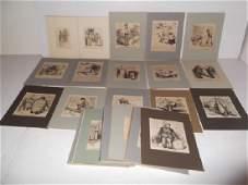 30 19th c engravingsetchings