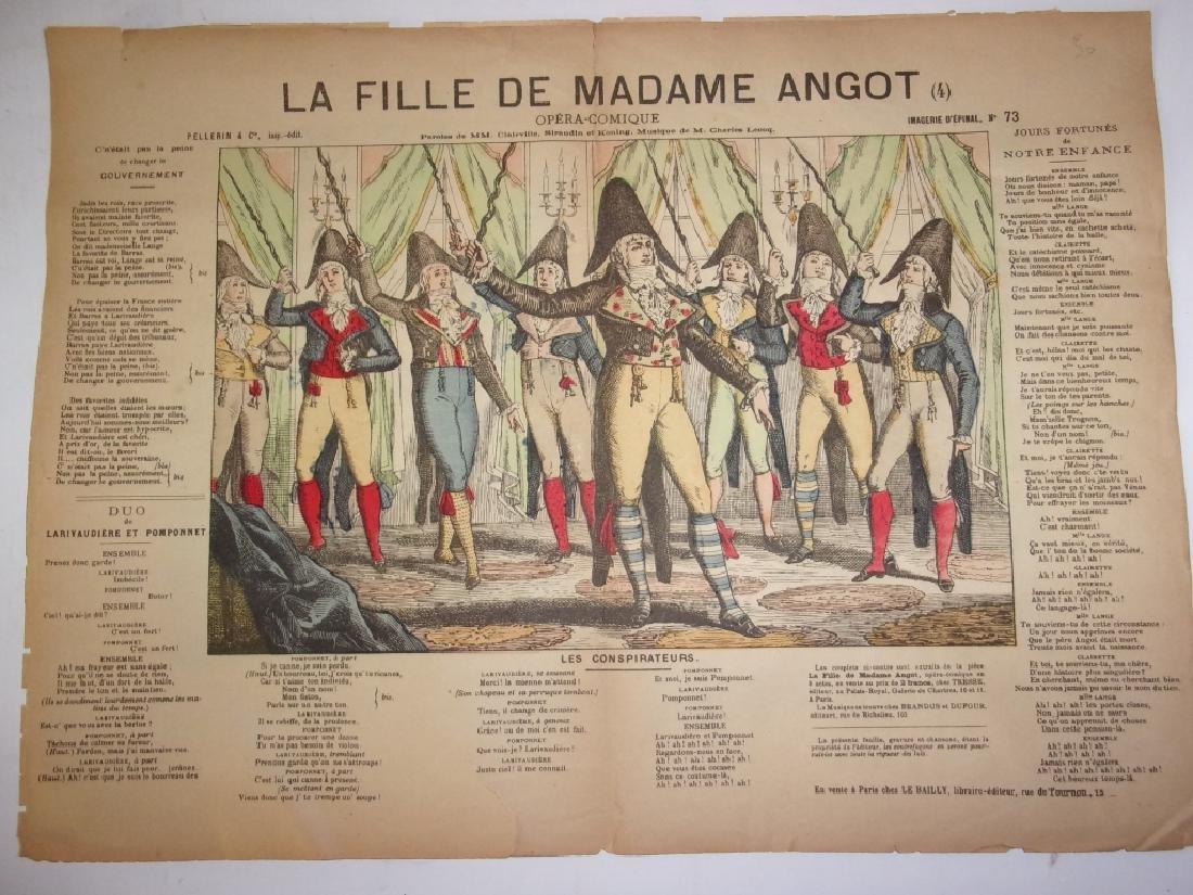4 19th century French newspaper comics - 3