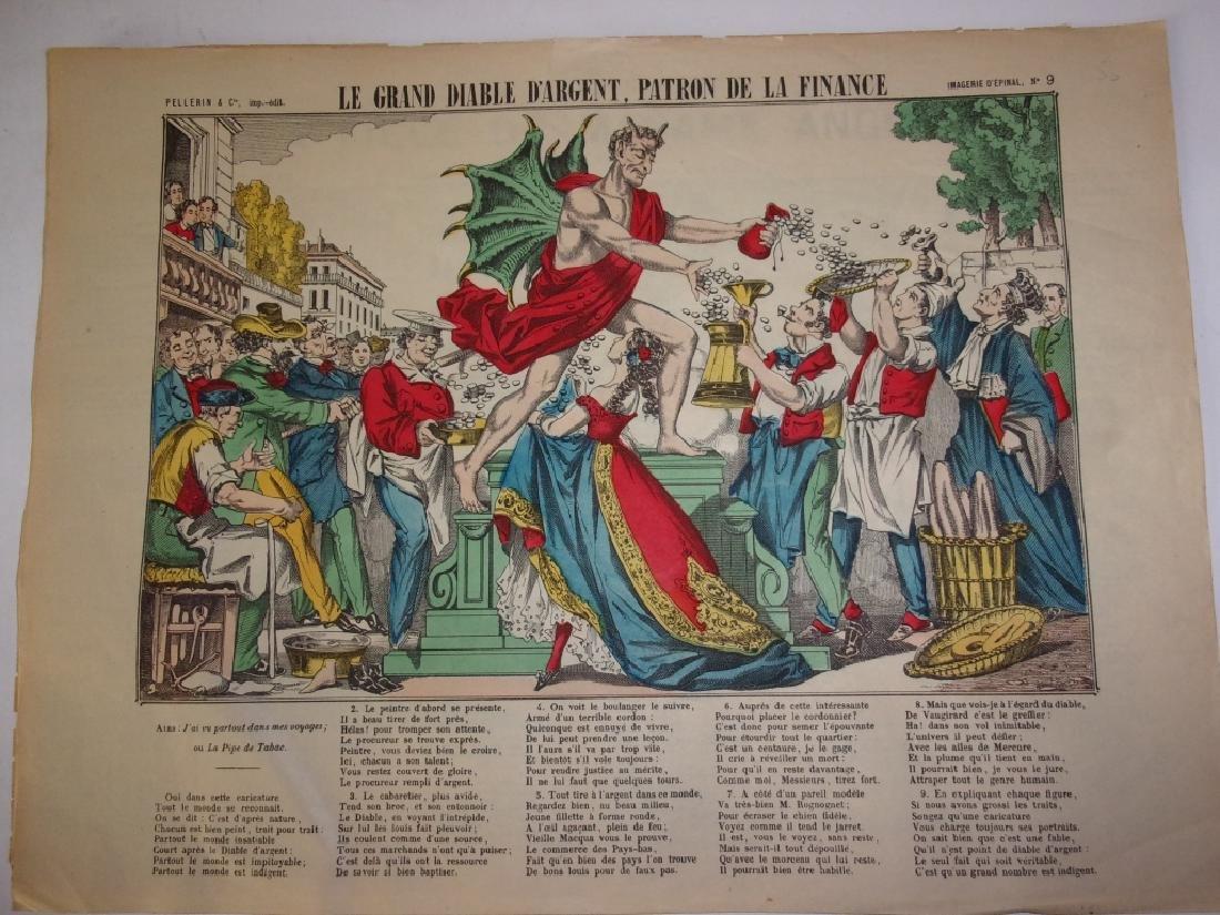 4 19th century French newspaper comics - 4