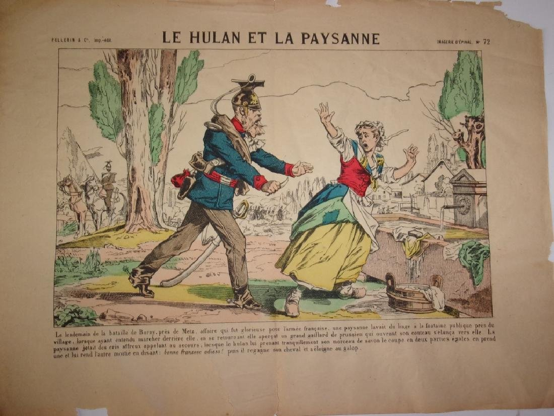 4 19th century French newspaper comics - 5