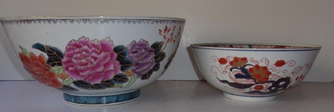 2 antique & contemporary  Asian designed bowls