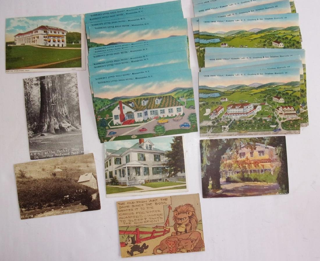 50 old postcards