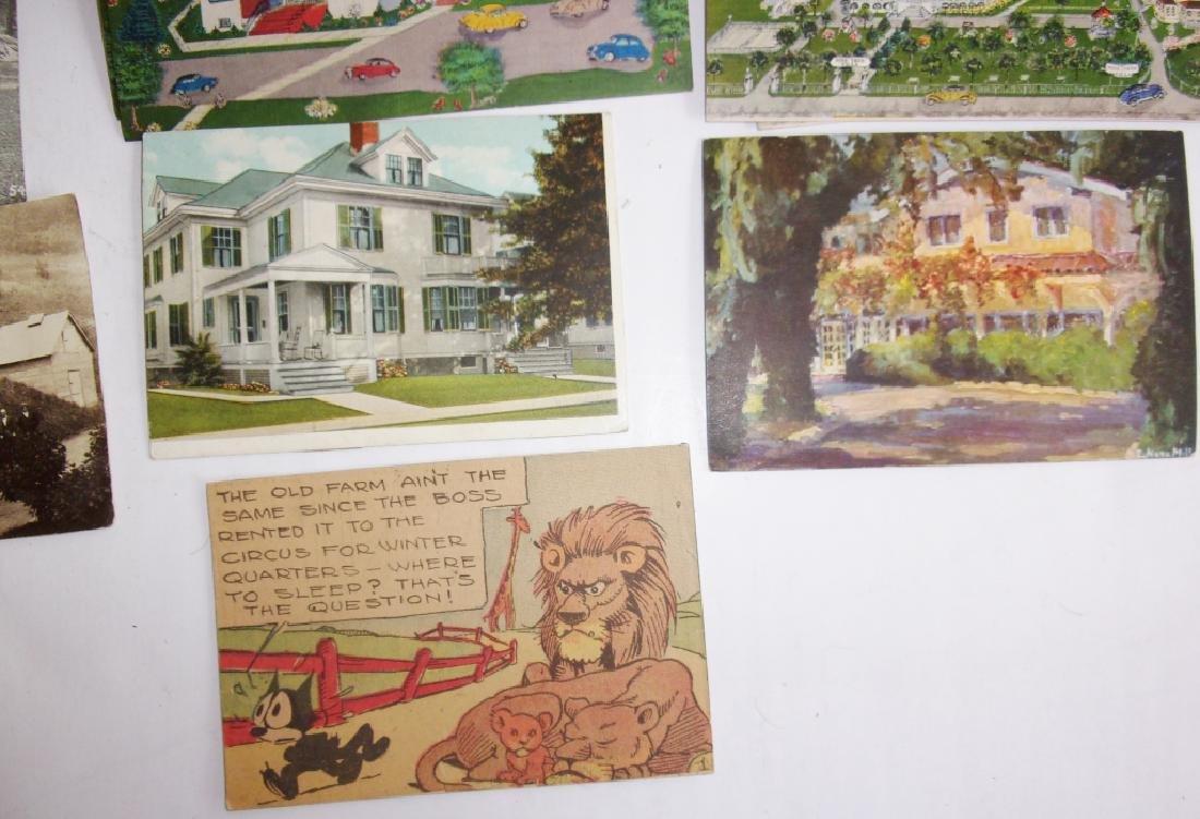 50 old postcards - 2