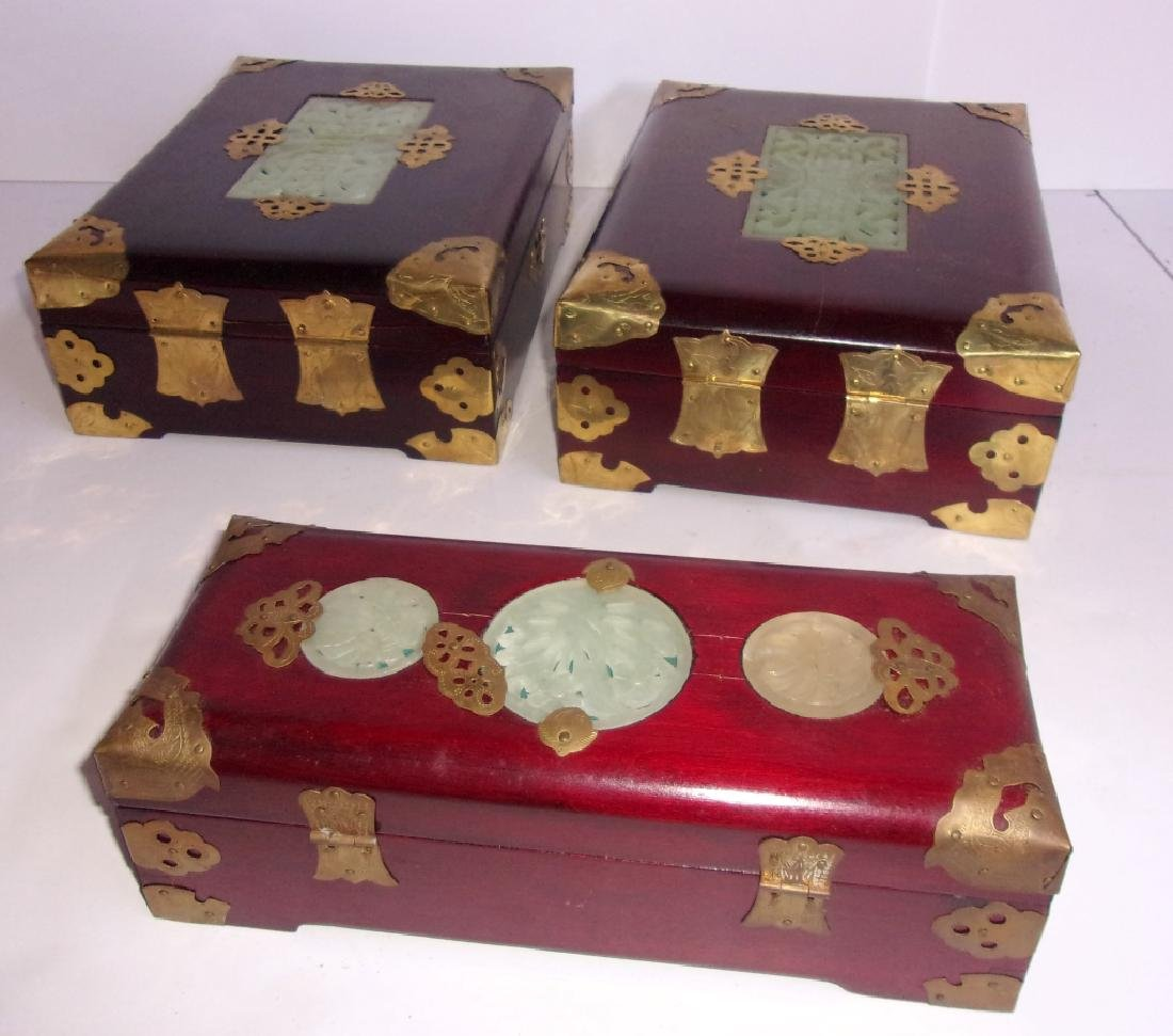 3 Chinese jewelry boxes - 2