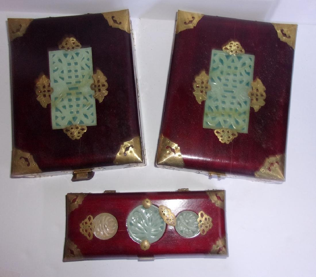 3 Chinese jewelry boxes - 7