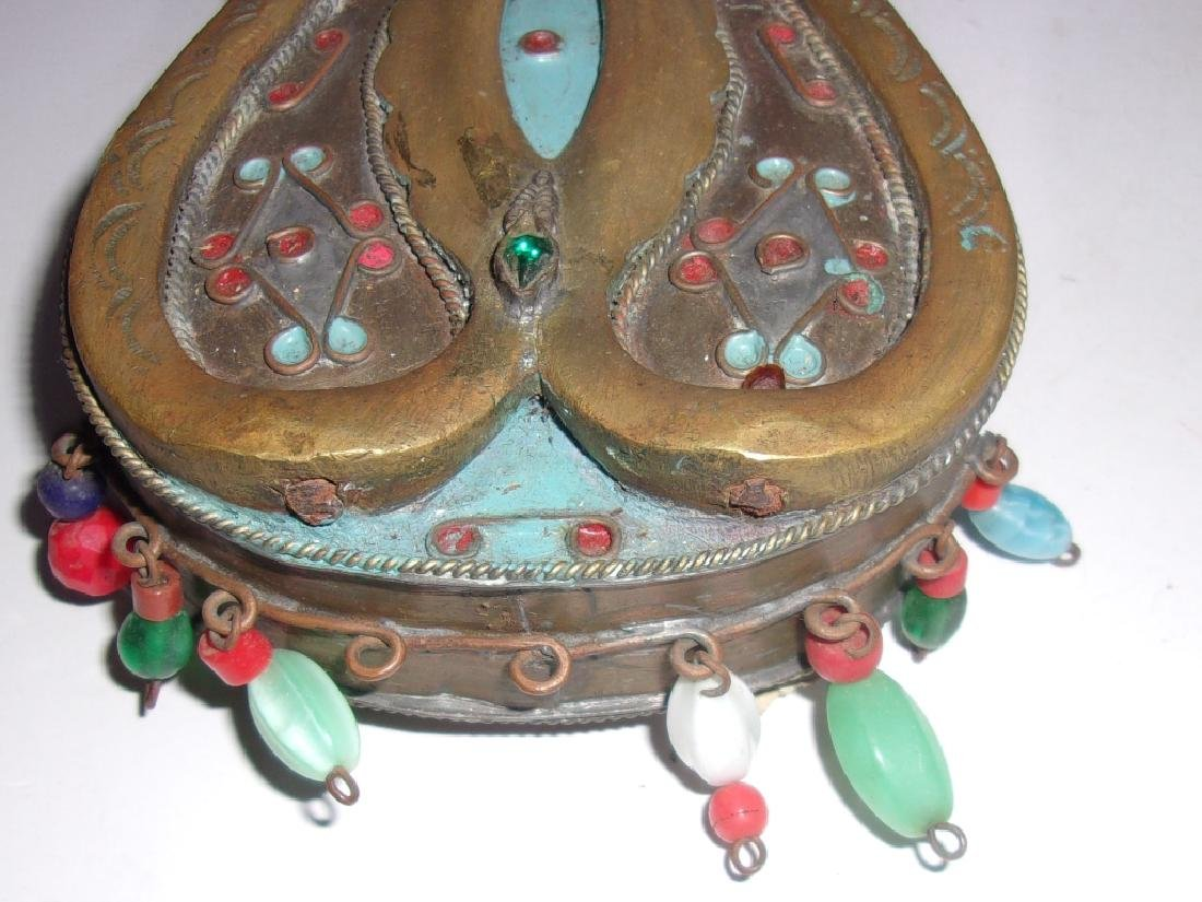 2 antique/vintage Mid-eastern canteens - 2