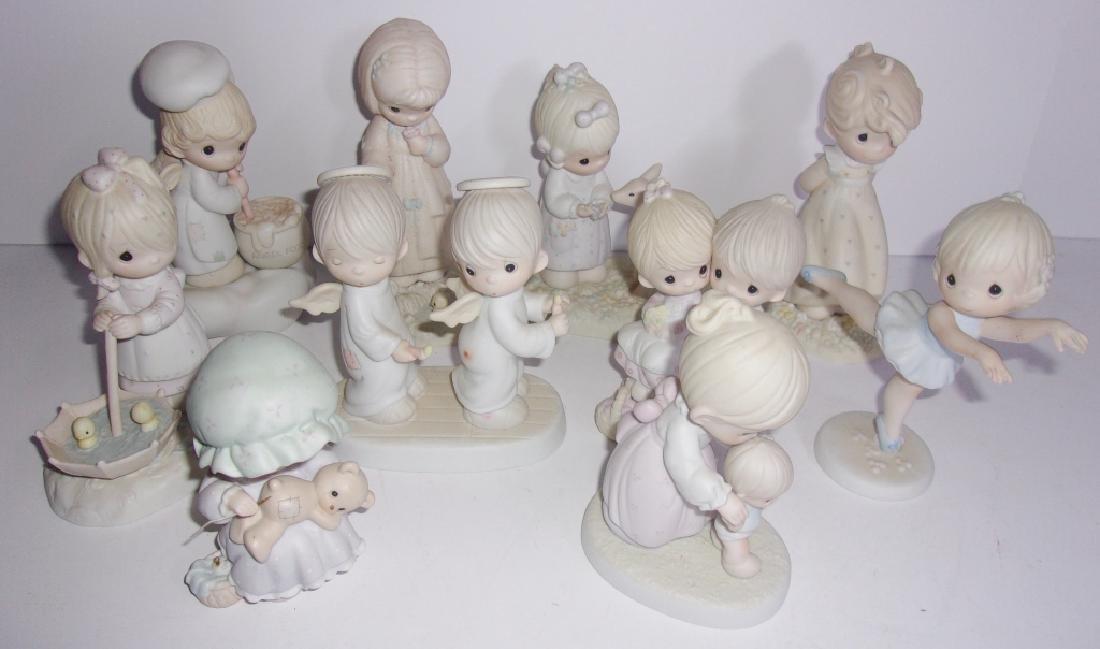 10 Enesco precious moments figurines