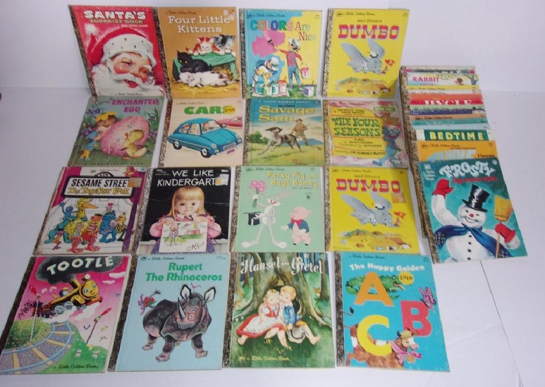 30 little golden children's books