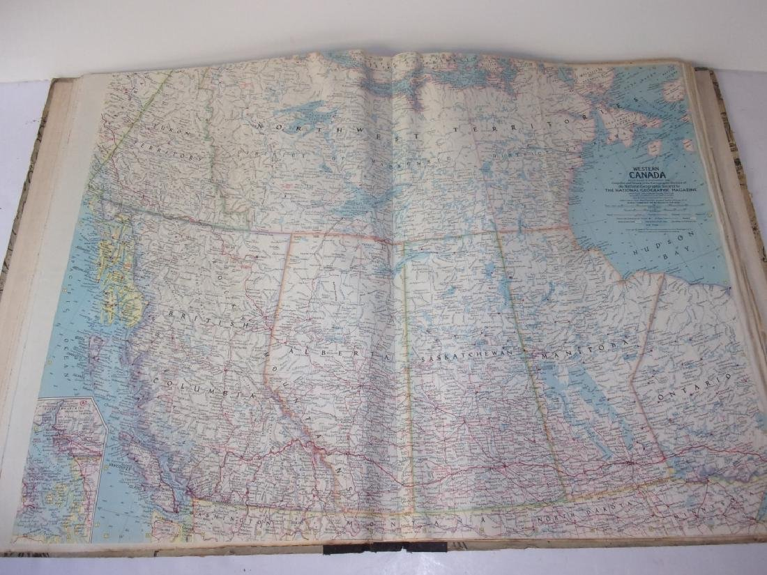 1959 National Geographic Society Atlas Folio - 4