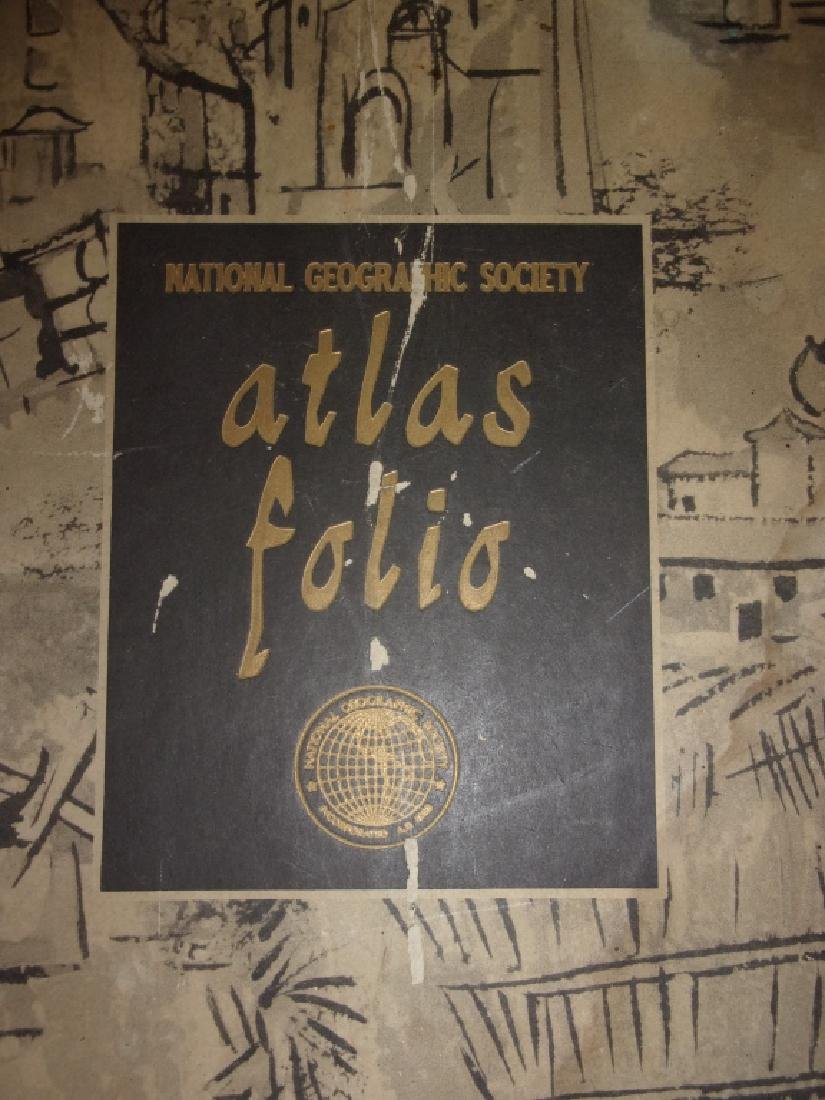 1959 National Geographic Society Atlas Folio - 5