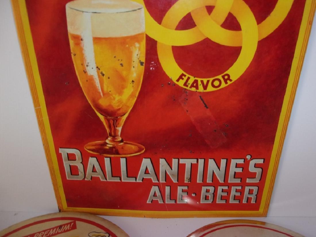5 vintage beer advertising  signs - 2