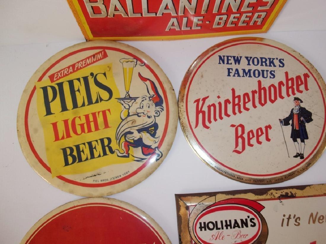 5 vintage beer advertising  signs - 3
