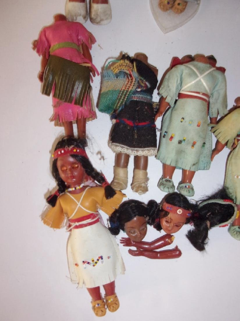 collection of Native American dolls - 2