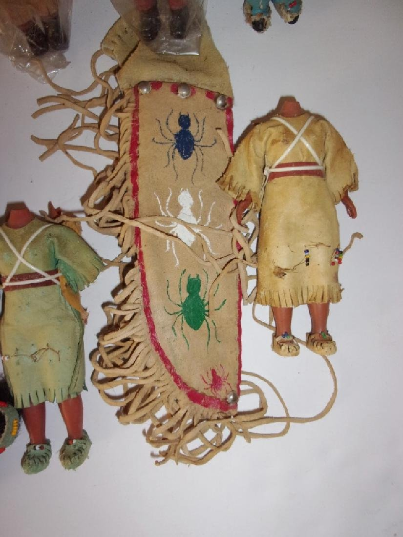 collection of Native American dolls - 3