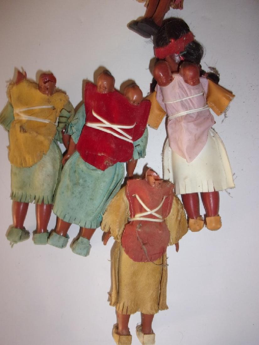 collection of Native American dolls - 4