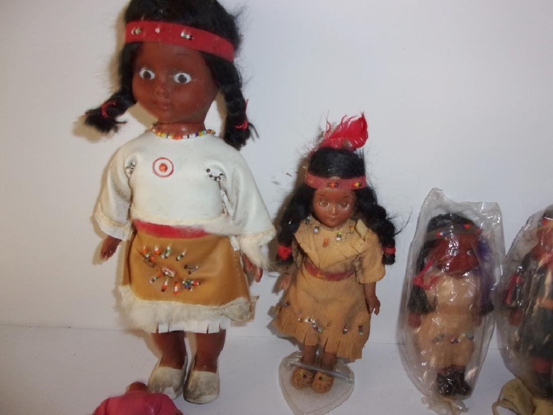 collection of Native American dolls - 6