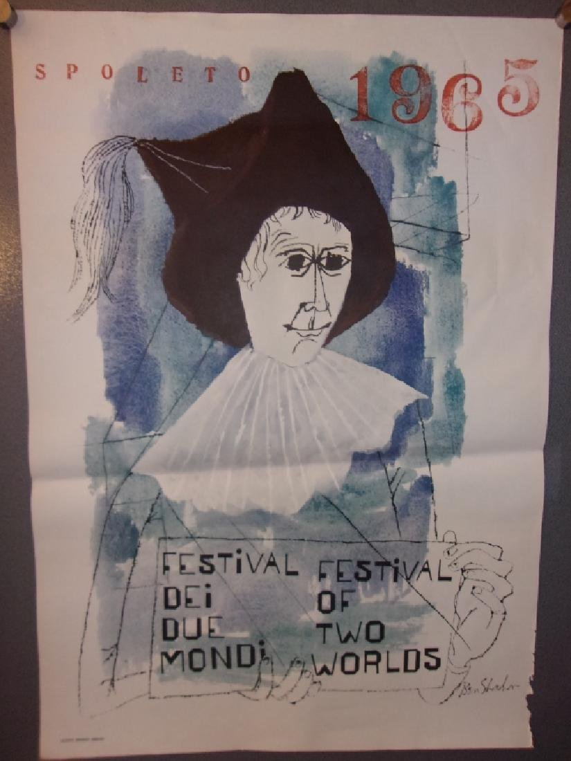 1965 Ben Shahn poster
