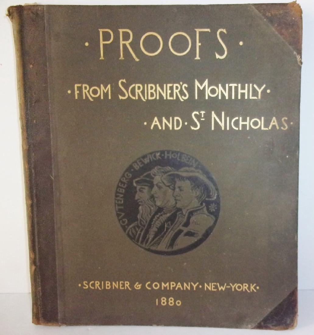 1880 proofs from Scribner's monthly book of prints