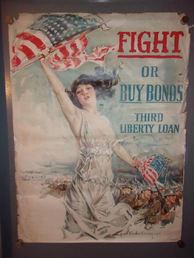 WWI  poster by Howard Chandler Christy, 1917