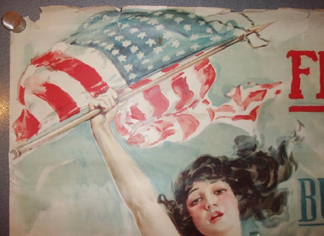 WWI  poster by Howard Chandler Christy, 1917 - 3
