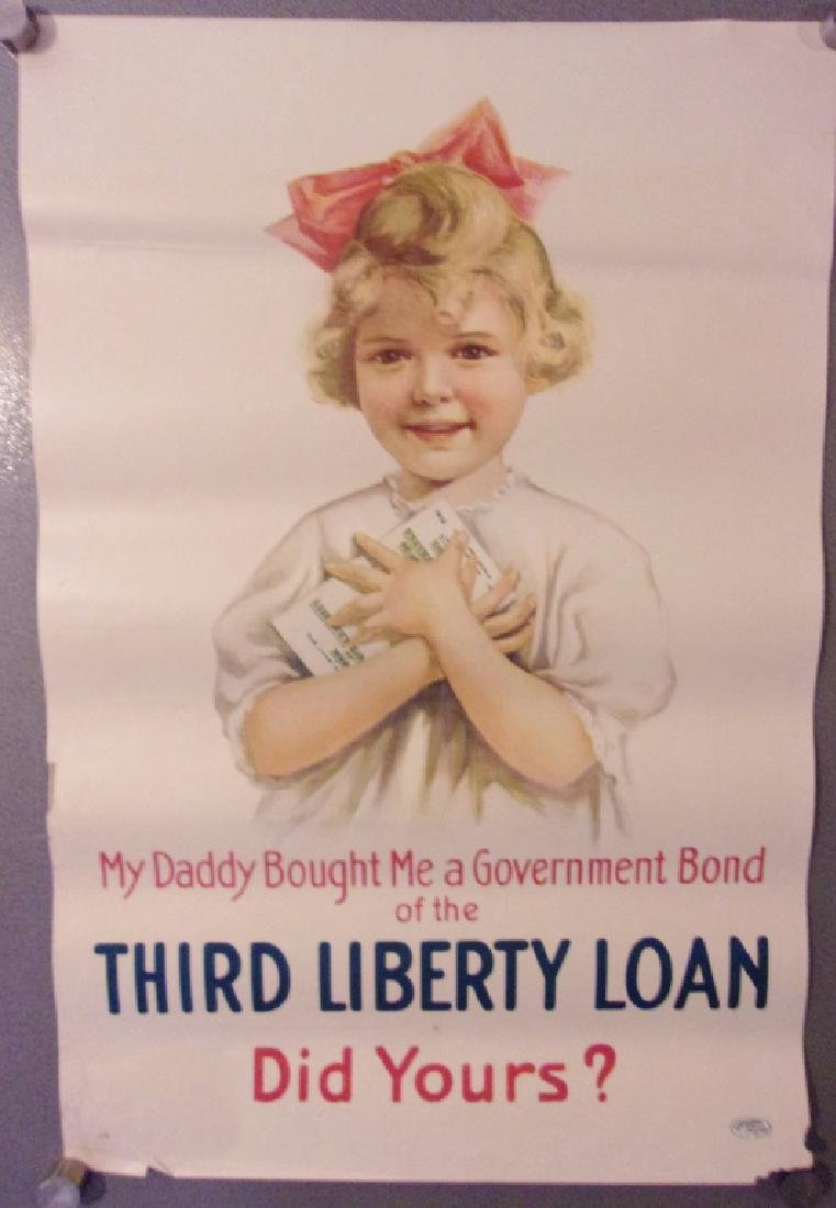 WWI third liberty loan poster 1917