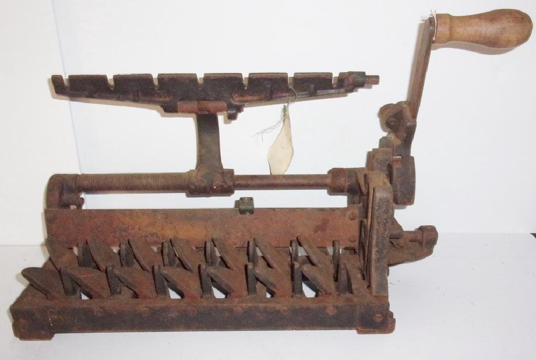 antique egg carton forming machine