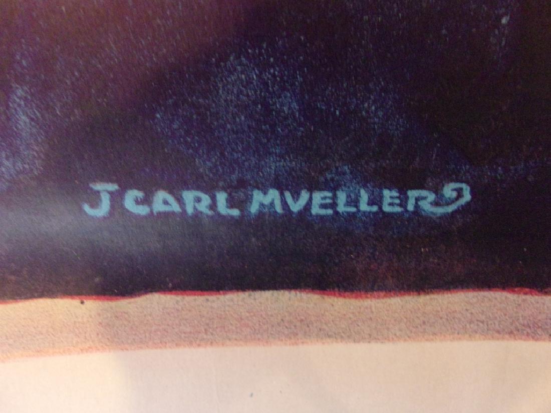 WWI hero land poster by J. Carl Mueller - 4