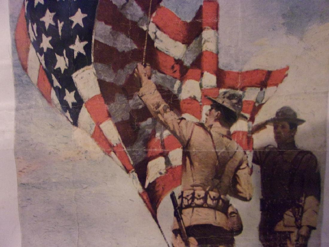 WWI US Marines recruiting poster - 3