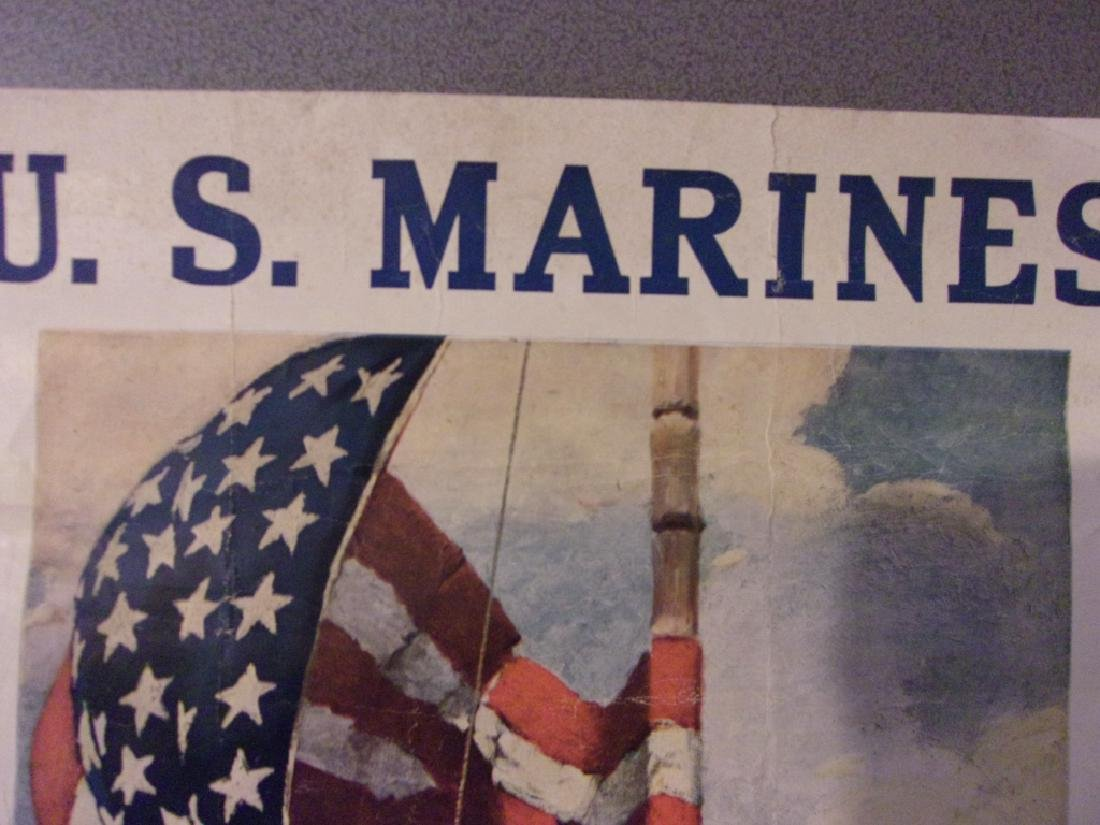WWI US Marines recruiting poster - 4