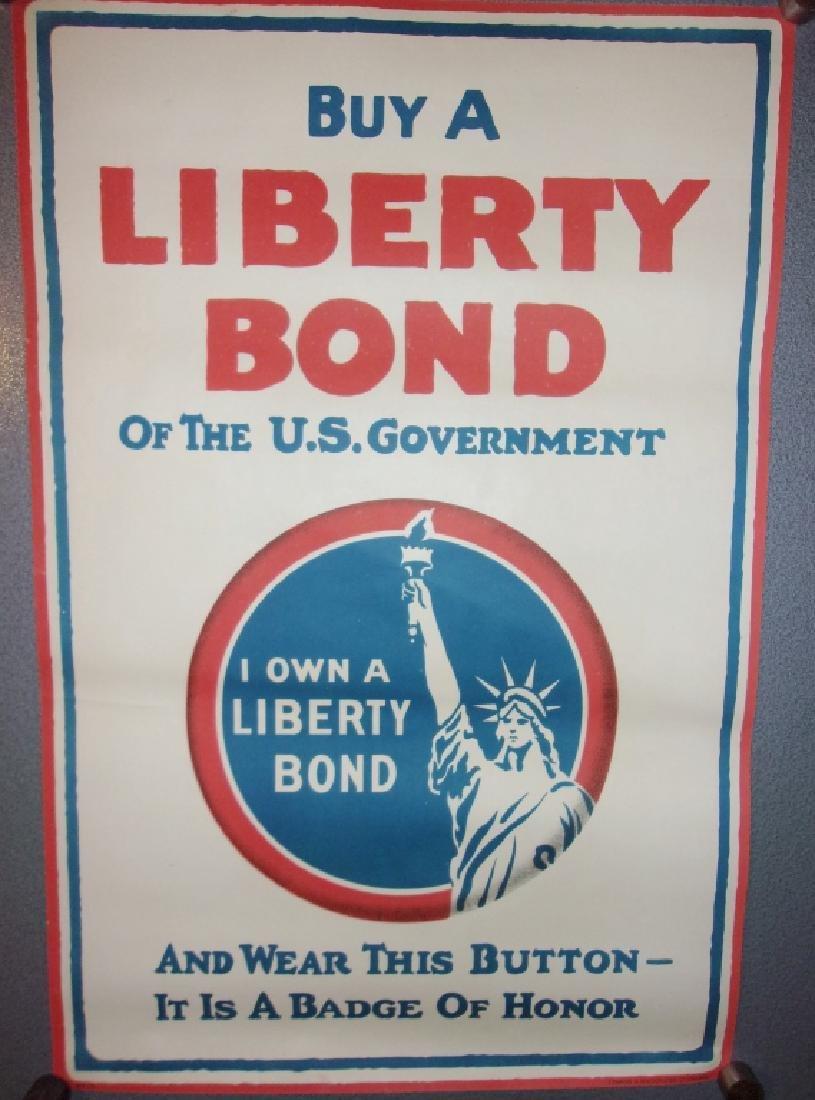 WWI buy a liberty Bond poster