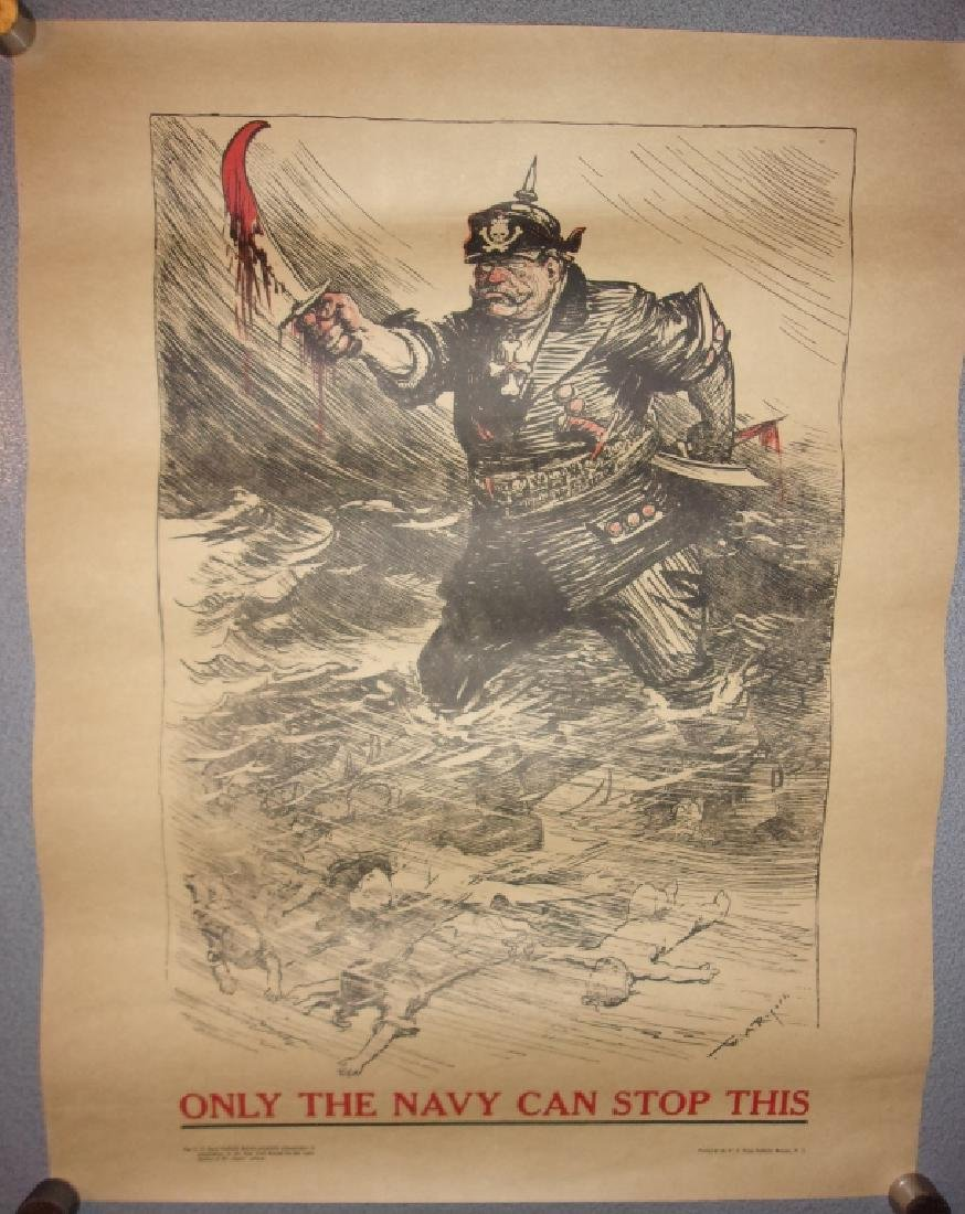 WWI Navy recruiting poster