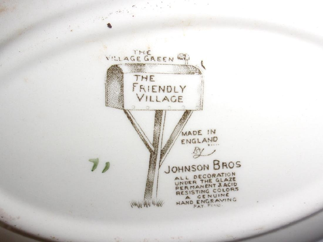 "55 piece ""the friendly village"" dish set - 3"