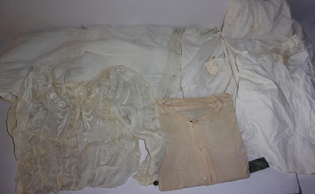 6 piece Victorian clothing lot