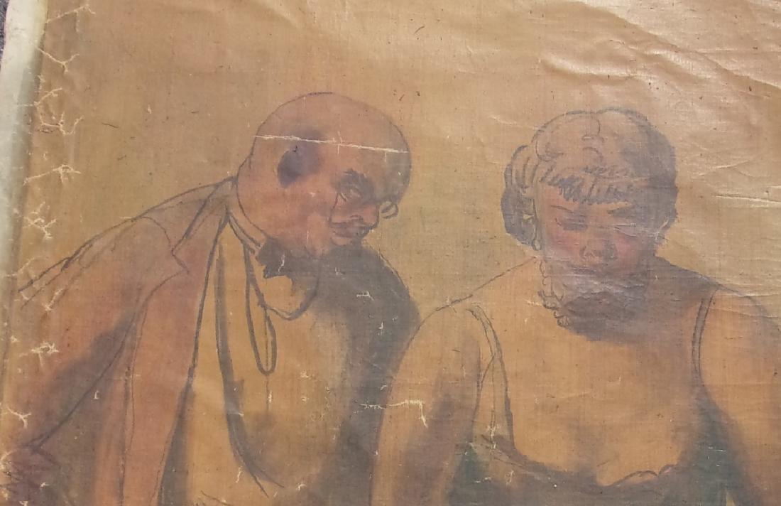 Large oil on canvas signed GUY PENE DU BOIS - 2