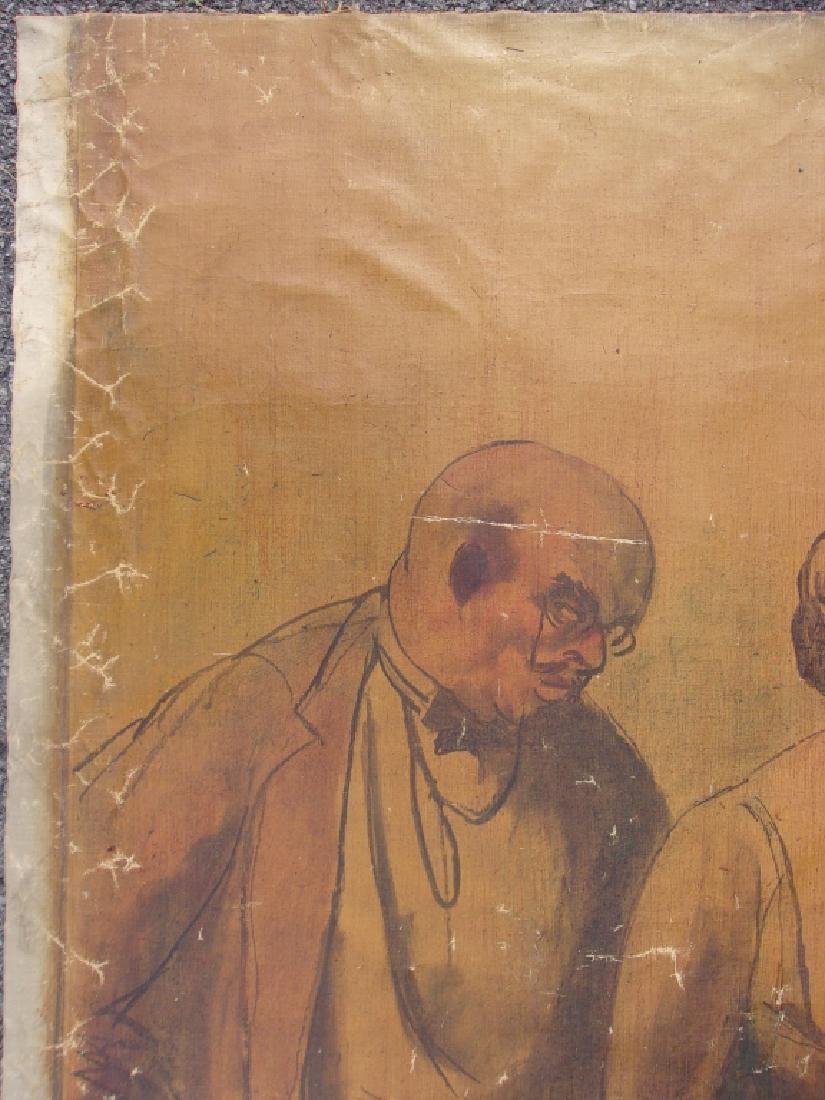 Large oil on canvas signed GUY PENE DU BOIS - 4