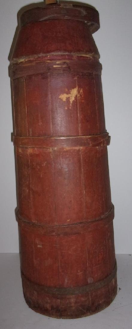 primitive country butter churn - 2