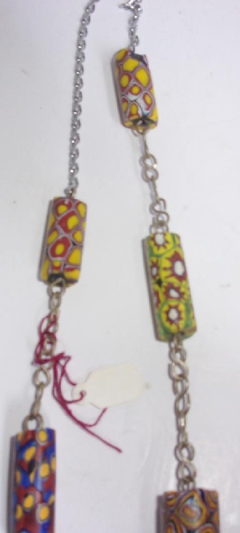 19th-century Venetian trade bead necklace - 3